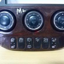 ML W 163 2004 Heater Climate Controls