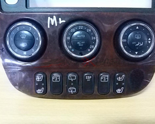 ML W 163 2004 Heater Climate Controls