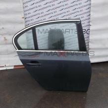 Задна дясна врата за BMW E60 ЦЕНАТА Е ЗА НЕОБОРУДВАНА ВРАТА