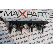 Бензинови инжектори с горивна рейка за Peugeot 308 1.6i 16v V7575645 V7528176
