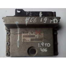 Компютър за PEUGEOT 406 1.9 TD ENGINE ECU 9624519580  0281001262