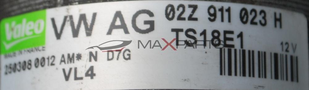 Стартер за Audi A3 2,0TDI    02Z911023H