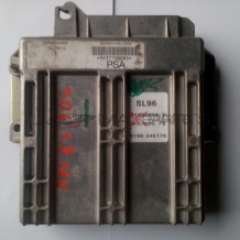 Компютър за PEUGEOT 306 1.8 16 V PETROL ENGINE ECU 9637798080   21656234-7