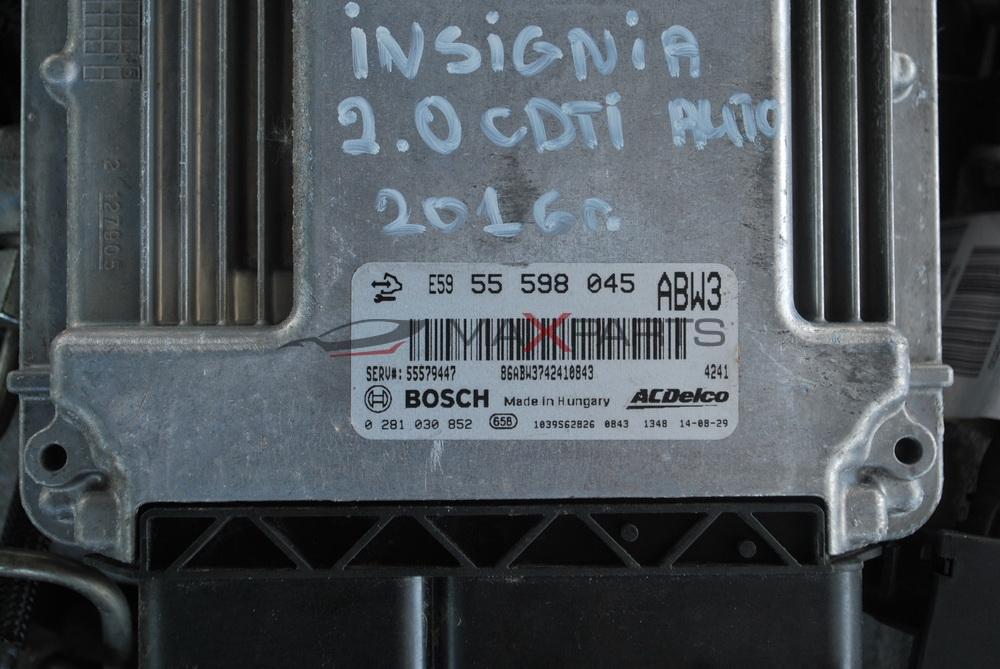 Компютър за OPEL INSIGNIA 2.0CDTI  E59 55 598 045  ECU Engine