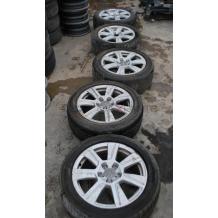Алуминиеви джанти и гуми за AUDI  225/50 R17