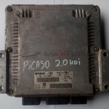 Компютър за CITROEN XSARA PICASSO ENGINE ECU 2.0 HDI 0281010595 9642014980
