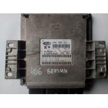Компютър за PEUGEOT 406 2.0 PETROL ENGINE ECU 9634496280 9637826080 Magneti Marelli 16406014