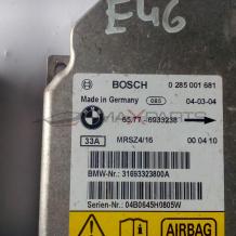 Централа AIRBAG за BMW E46  0285001681 31693323800A