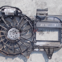 Перка охлаждане за AUDI A4 B7 CABRIO 1.8 TURBO Radiator fan 8E0101205AE 988509C 8E0959501T 4F0910501