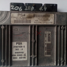 Компютър за PEUGEOT 206 1.4 PETROL ENGINE ECU 9646185180  9646988880