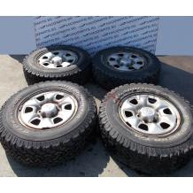 Джанти с гуми  16`` за Toyota Hilux 6.5J STEEL WHEELS