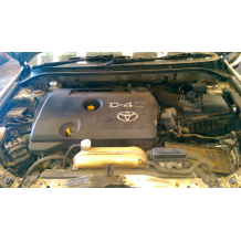 TOYOTA AVENSIS 2.0 D4D 126 ENGINE