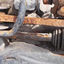 Задна дясна полуоска за Skoda Octavia Scout 2.0TDI rear right driveshaft