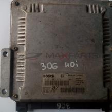 Компютър за PEUGEOT 306 2.0 HDI 0281001976 9635157580 ECU
