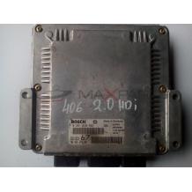 Компютър за Peugeot 406 2.0 HDi Engine  ECU 0281010593 9643527380 Bosch