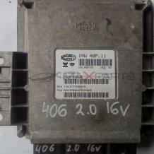 Компютър за PEUGEOT 406 2.0 16 V ECU 9634496280  9639045280  16406014