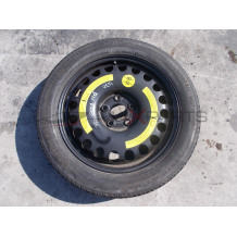 Резервна джанта с гума за MERCEDES BENZ E-CLASS W211 CONTINENTAL 155/70R17 DOT3103 SPARE WHEEL
