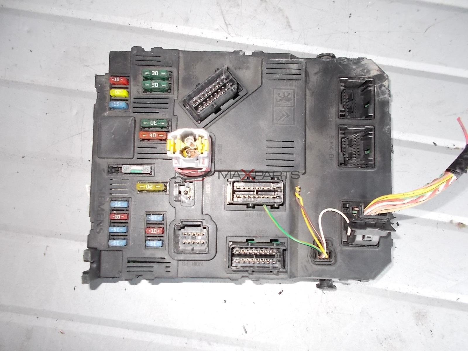Citroen Berlingo Fuse Box Auto Electrical Wiring Diagram