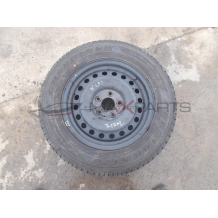 Резервна джанта с гума за NISSAN X-TRAIL DUNLOP GRANDTREK 215/65R16 DOT 1504 SPARE WHEEL