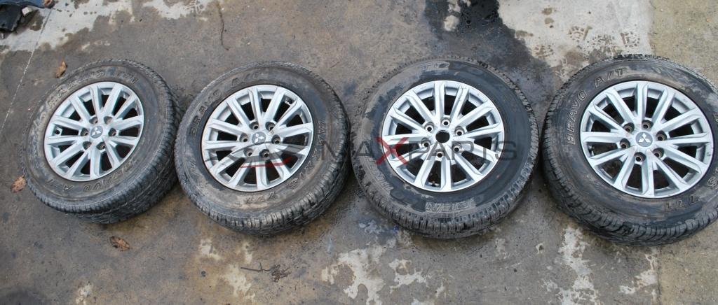 Алуминиеви джанти и гуми за MITSUBISHI L 200  245/65 R17