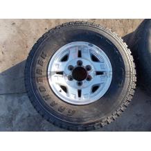 Резервна джанта с гума за TOYOTA HILUX 15'' 7J 265/70R15 SPARE WHEEL