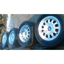 BMW E39  15'' ALUMINUM WHEELS