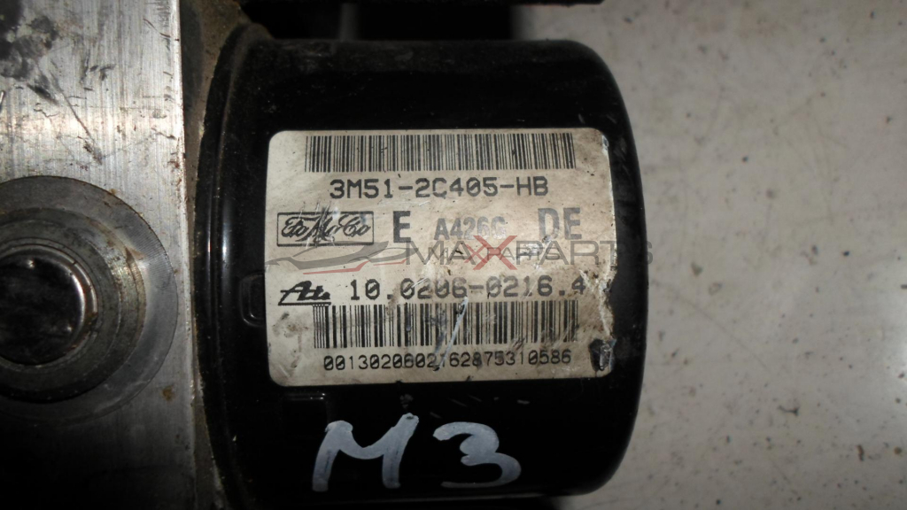 ABS модул за MAZDA 3 1.6  D 90 Hp ABS PUMP 3M512C405HB  10020602164  10096001193