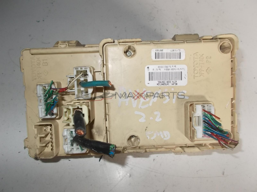 Toyota Avensis 22 D4d Fuse Box 82641 05030 In