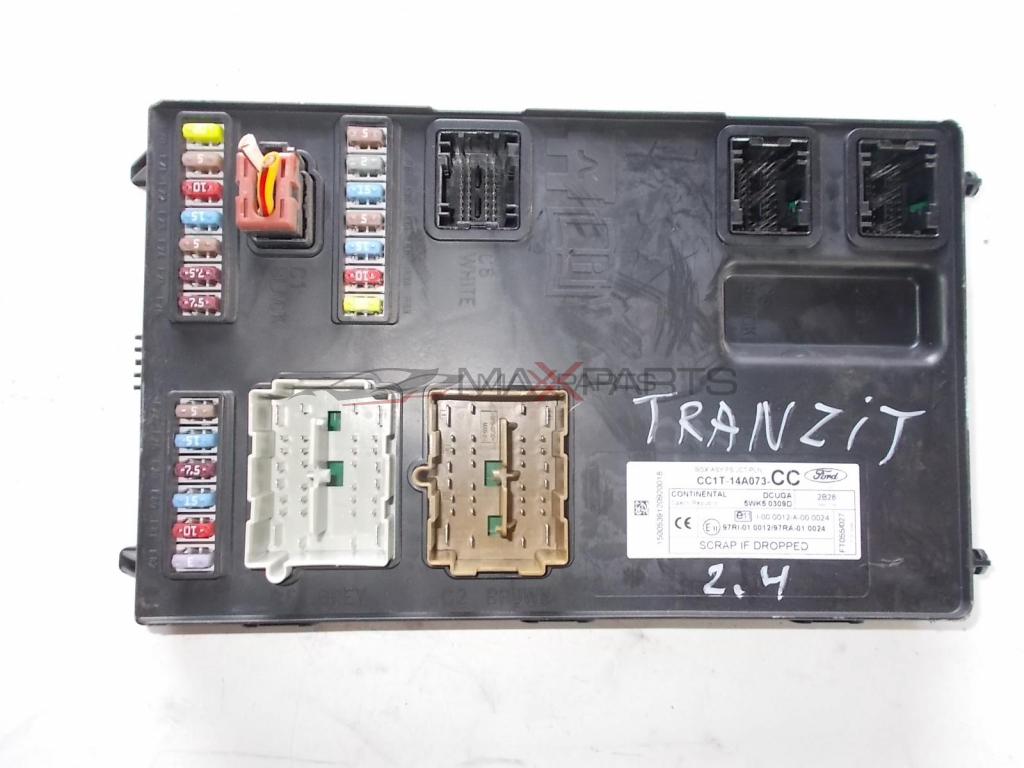 Ford Transit Fuse Box Cc1t14a073 5wk50309d New
