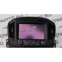 NAVI CD RADIO ДИСПЛЕЙ  за Opel Insignia 26202389    7370100000000X    544930977    A115016422280013