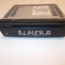 Almera Tino CD Player Clarion PN-2598M 28185BN810