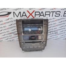 Радио CD player и клима контрол за Lexus IS220 86120-53370