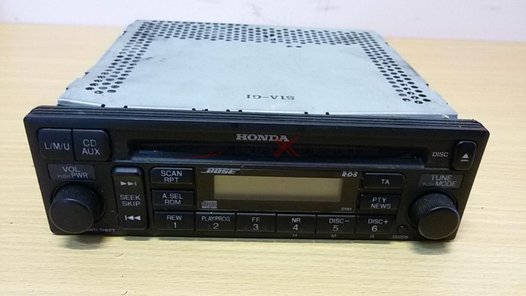 CD Radio player BOSE HONDA ACCORD 39101-S1A-G110-M1 MF721R0