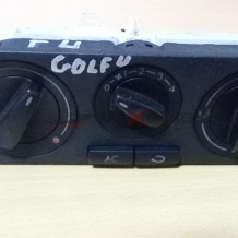 GOLF 4 2002 Heater Climate Controls