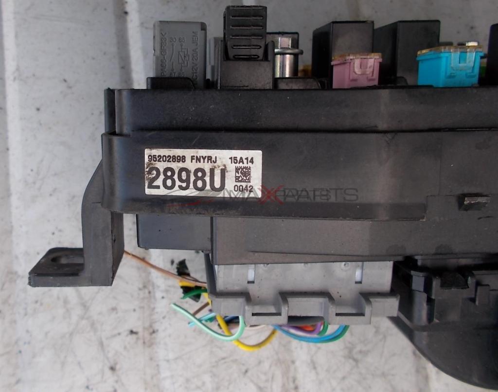 Бушонно табло за OPEL Antara 2.2 CDTi A22DM UEC Front Fusebox Fuse Box  95202898