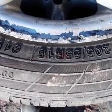 2бр. гуми Routeway Ecoblue RY26+ 205/55R16 M+S DOT 3415