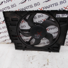 Перка със дифузьор охлаждане за BMW E60 525D 772.60104.01 L8436001 Cooling Fan