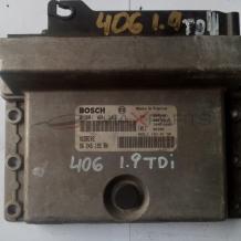 Компютър за PEUGEOT 406 1.9 TD ECU 0281001262 9624519580
