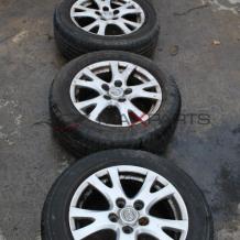 Алуминиеви джанти и гуми за MAZDA  205/60 R16