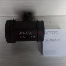 Дебитомер за Alfa Romeo 2.4 JTD 136 Hp Air Flow Meter 0281002598  0 281 002 598