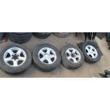 Алуминиеви джанти и гуми за ISUZU D-MAX  255/65 R17