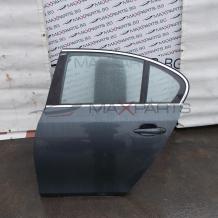 Задна лява врата за BMW E60 ЦЕНАТА Е ЗА НЕОБОРУДВАНА ВРАТА