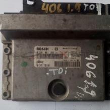 Компютър за PEUGEOT 406 1.9 TD ENGINE ECU 0281001262   9624519580