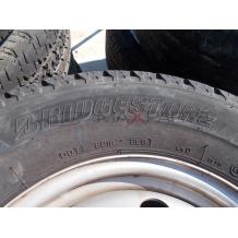 2бр. гуми Bridgestone Duravis 215/70R15C DOT3914