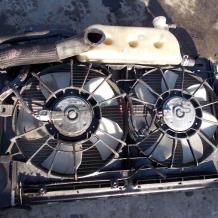 Перки охлаждане за TOYOTA AVENSIS 2.2 D4D Radiator fans 16363-0G060S 16363-0G060M