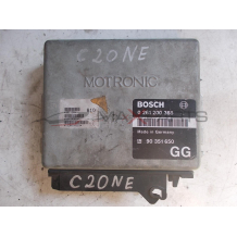 Компютър за OPEL OMEGA 2.0i ENGINE ECU 0261200368 90351650