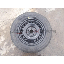 Резервна джанта с гума за NISSAN X-TRAIL BRIDGESTONE DUELER 215/65R16 DOT 3205 SPARE WHEEL