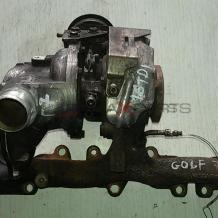 Турбо компресор за VW GOLF 7 1.6 TDI 04L253016H  GTD1244VZ  813860-1 813860-0003  04L 253 016 H