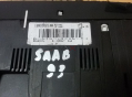 SAAB 93 2005 Heater Climate Controls