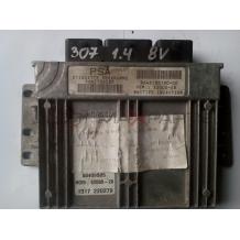 Компютър за PEUGEOT 307 1.4 8V  ENGINE  ECU 9645704580   9646185180